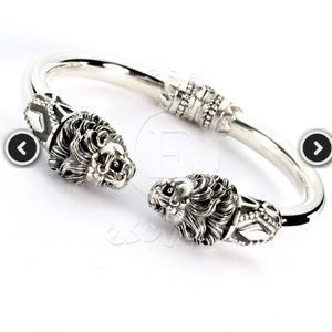 Escuplta Men's Sterling Silver Bracelet